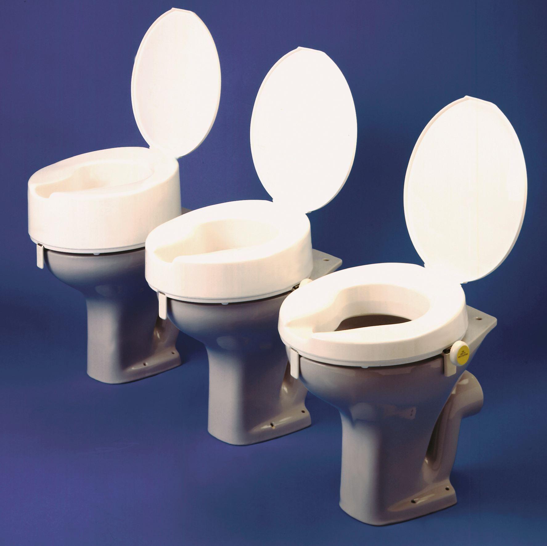 Ashby Raised Toilet Seat | Gordon Ellis
