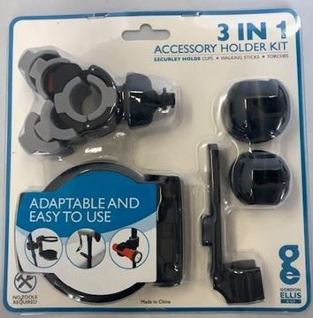 3 in 1 Accessory Holder Kit